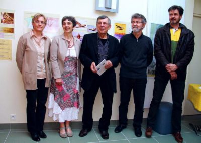 maxilly-expo- valérie lefebvre-piquilloud-requet-maire magnin-